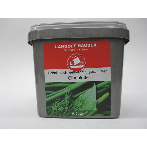 Landolt Hauser AG Schnittlauch gefriergetrocknet 35g in der LH Box