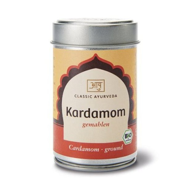 Ayurveda Kardamom, gemahlen, mit Schale, Bio 50g
