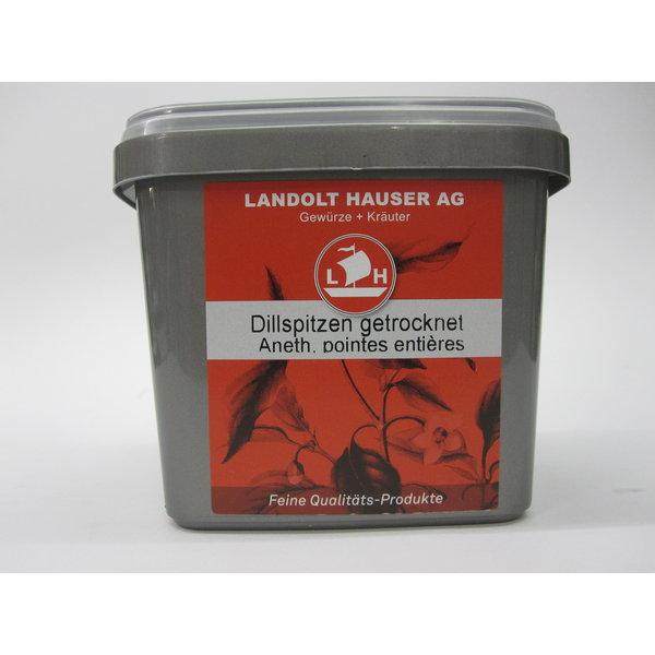 Landolt Hauser AG Dillspitzen getrocknet ganz 150g in der LH Box