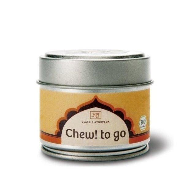 Ayurveda Chew! to go, Samenmischung zum Kauen