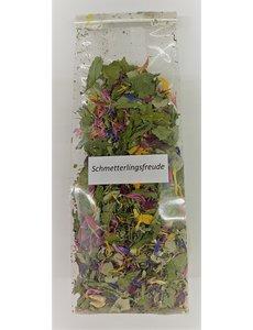 Schmetterlingsfreude, Bio