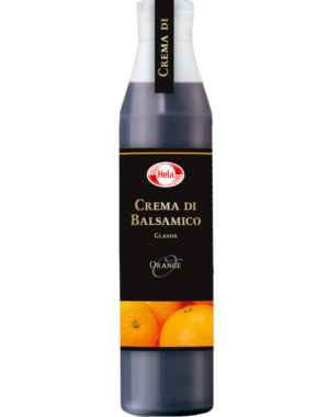 "Hela Crema all ""Aceto Balsamico di Modena IGP"" Glasur Orange  380 ml"
