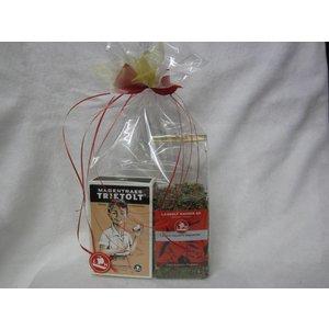 Geschenk Tee + Rezeptbox