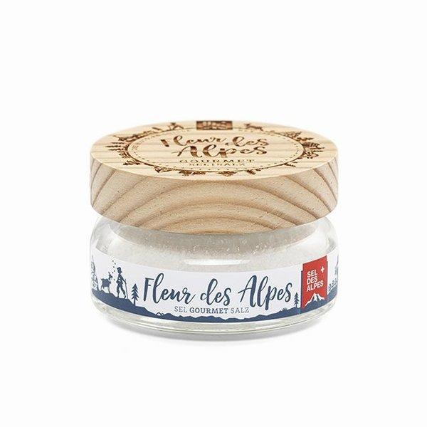 Fleur des Alpes – Gourmet Salz - 85g Edition Lärchenholz