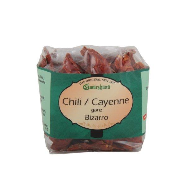 Gwürzhüsli Bizarro AG Chili/ Cayenne ganz, 20g