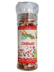 Pfiffikus Bio Chili Salz Mühle 80g