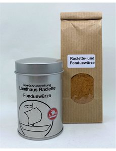 Landolt Hauser AG Raclette - Fonduewürze Landhaus