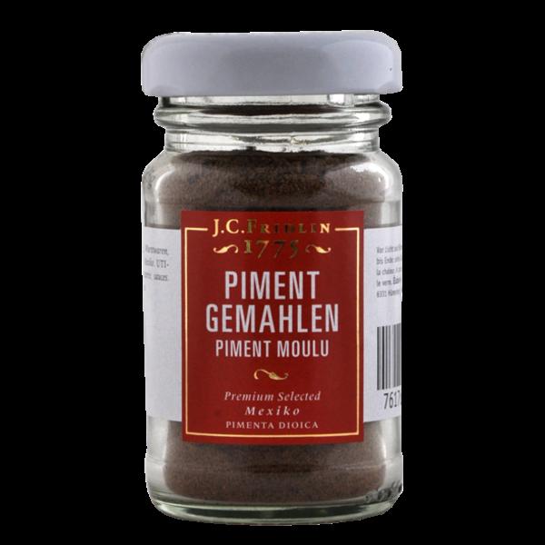 J.C.Fridlin Piment gemahlen 25g im Glas