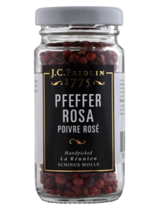 J.C.Fridlin Pfeffer rosa 20g im Glas