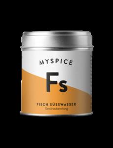 MYSPICE Fisch Süsswasser, 100g
