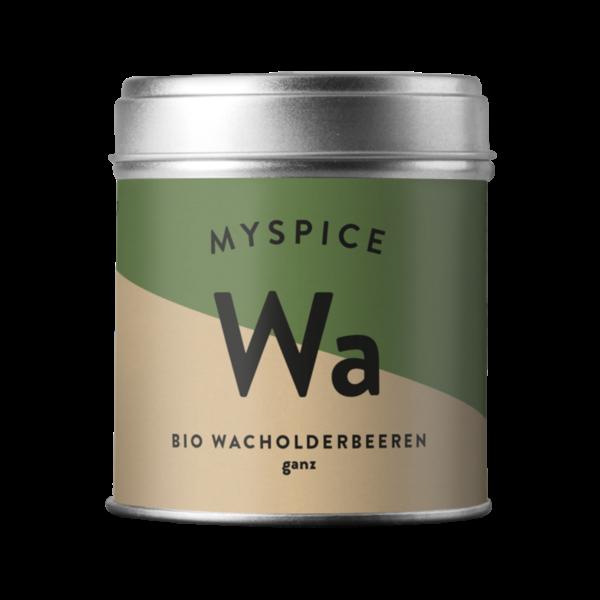 MYSPICE Bio Wacholderbeeren, ganz, 50g