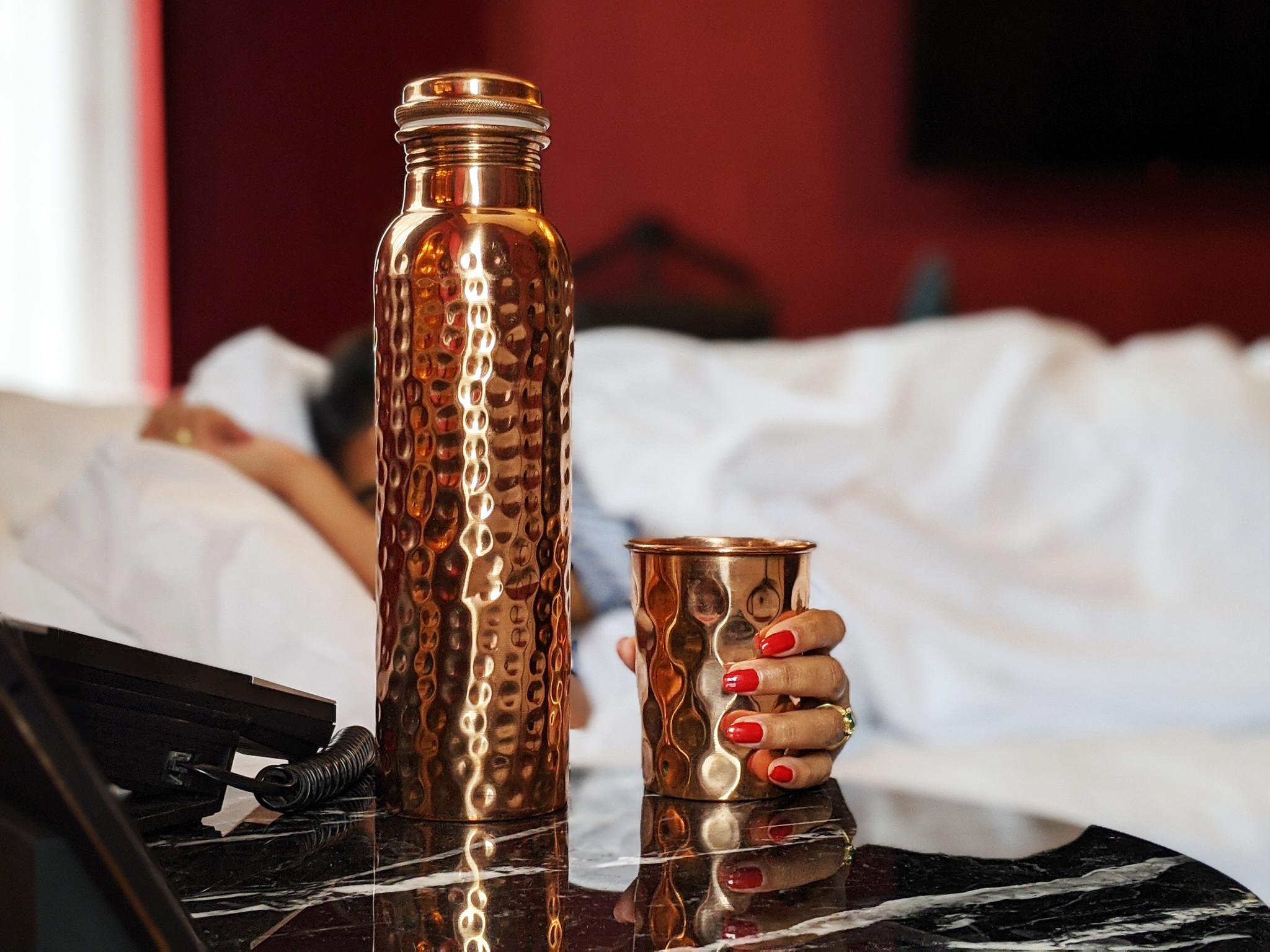 Kupfer - der Durstlöscher mit anti-bakteriellen Wirkung