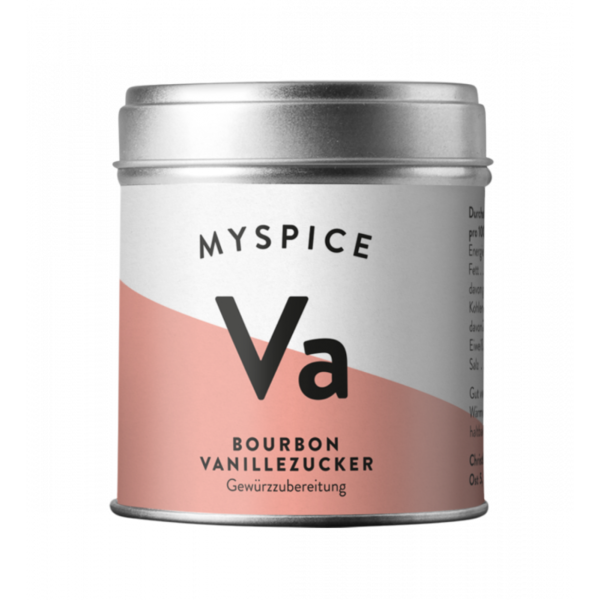 MYSPICE Bourbon Vanillezucker, 120g