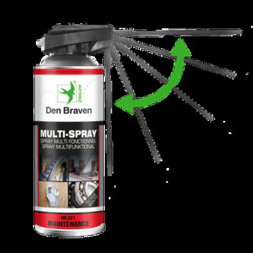 Zwaluw Den Braven Zwaluw Multi- Spray 400ml