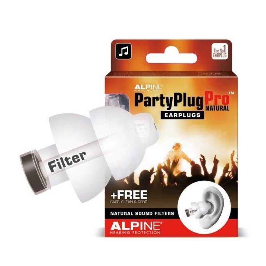 PartyPlug Pro Natural | Oordopjes voor het uitgaan