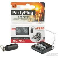 Partyplug Zilvergrijs met Alpine Miniboxx opbergkoker