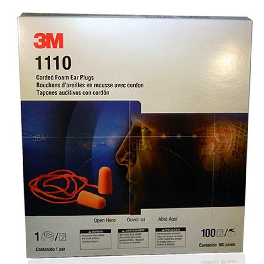 1110 oranje oordoppen met koordje   SNR 37dB   100 paar