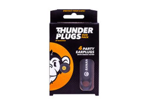 Thunderplugs Duopack muziek oordopjes