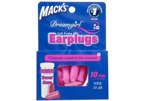 Macks Dreamgirl oordopjes | 10 paar
