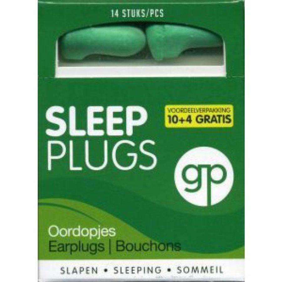 Sleep Plugs | 7 paar | Zachte slaap oordopjes