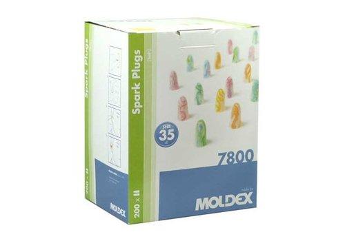 Moldex Spark Plugs | 200 paar oordoppen | SNR  35 dB