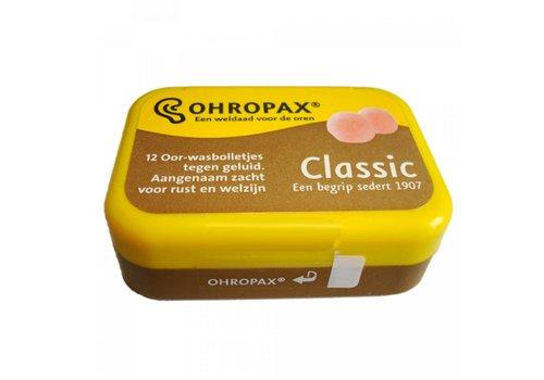 Ohropax Classic Wasbolletjes | 6 paar