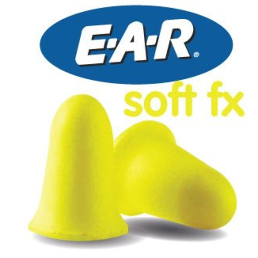 Soft FX oordopjes | 100 paar | Hoogst mogelijk demping SNR 39dB