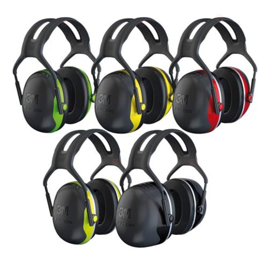 Peltor X4A oorkap met hoofdband | SNR 33dB | Smalle kappen