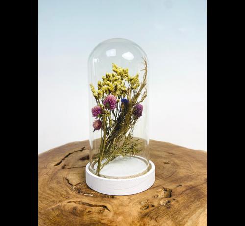 Stolp met droogbloemen - Large