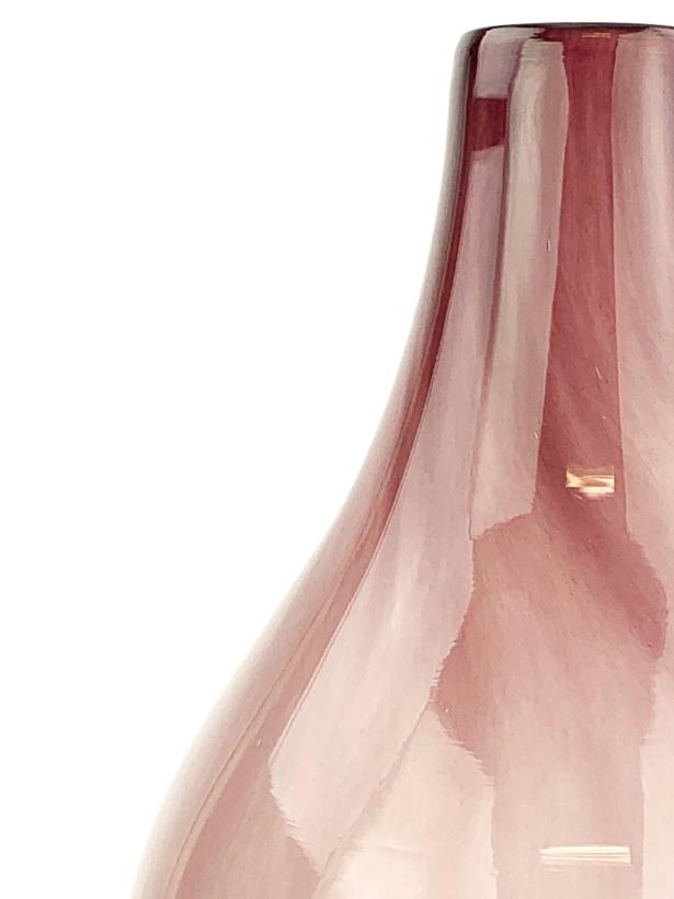 "Raindrop vaas ""Pink"" - ⌀35xH24cm"