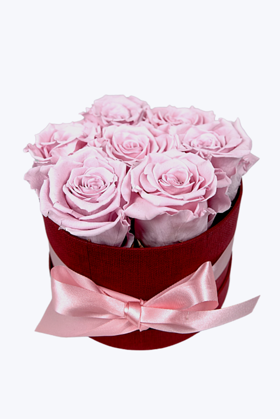 Longlife Rozenbox 'roze' (7 stuks)