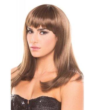 Be Wicked Wigs Hollywood Pruik - Bruin