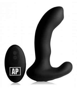 Alpha-Pro P-Massage Prostaat Vibrator Met Roterende Kraal