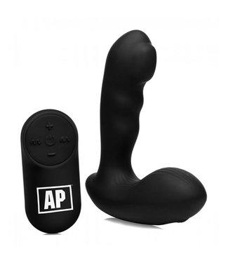 Alpha-Pro P-Milker Prostaat Vibrator Met Bewegende Kraal