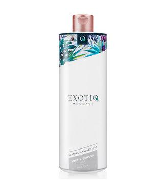 Exotiq Exotiq Soft & Tender Massagemelk - 500 ml