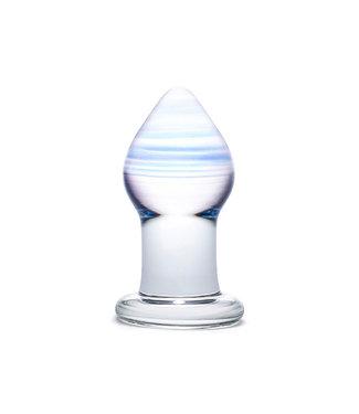 Glas Glas - Amethyst Rain Glazen Butt Plug