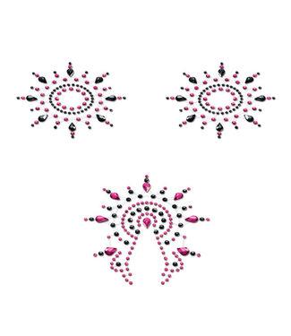 Petits Joujoux Petits Joujoux - Gloria Set Zwart & Roze