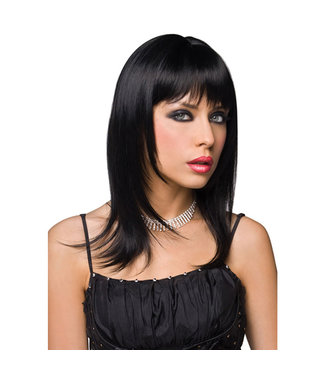 Pleasure Wigs Pruik Steph - Zwart