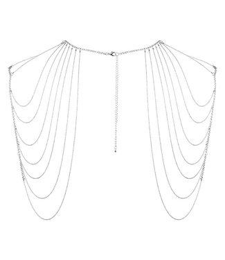 Bijoux Indiscrets Bijoux Indiscrets - Magnifique Schouder Sieraad Zilver