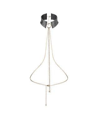 Bijoux Indiscrets Bijoux Indiscrets - Desir Metallique Collar Zwart