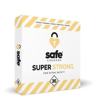 Safe SAFE - Condooms Super Strong for Extra Safety (36 stuks)