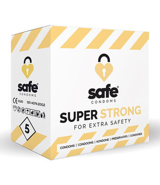 Safe SAFE - Condooms - Super Strong (5 stuks)