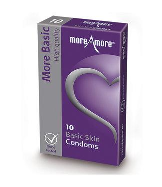 MoreAmore MoreAmore - Condoom Basic Skin 10 st.