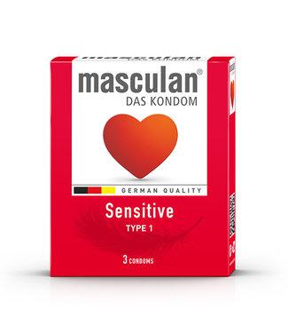 Masculan Masculan - Type 1 Sensitive (3 pc) 16 st.