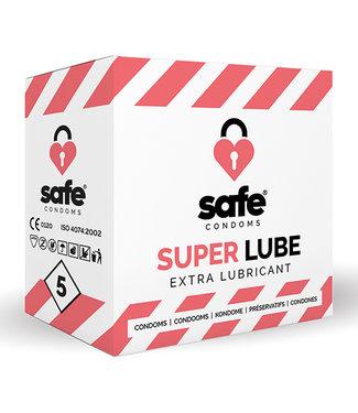 Safe SAFE - Condooms - Extra Glijmiddel (5 stuks)