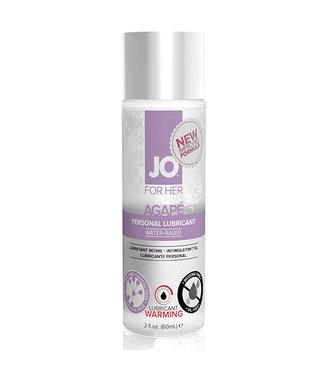 System JO System JO - For Her Agape Glijmiddel Warm 60 ml