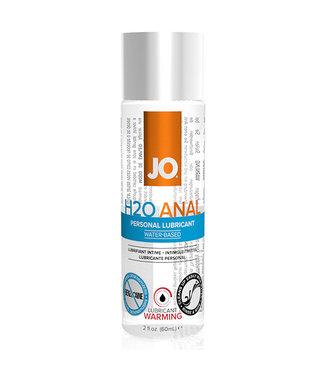 System JO System JO - Anaal H2O Glijmiddel Warm 60 ml