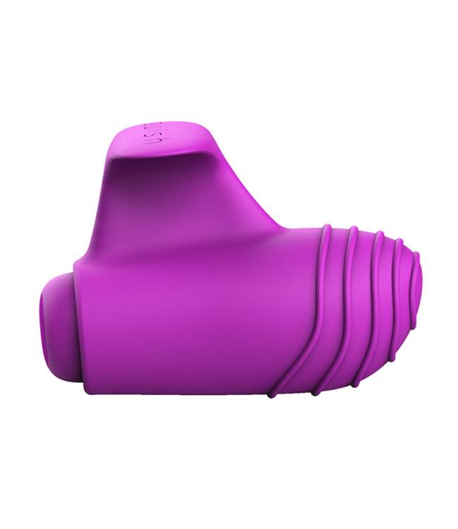B Swish - bteased Basic Vingervibrator Paars