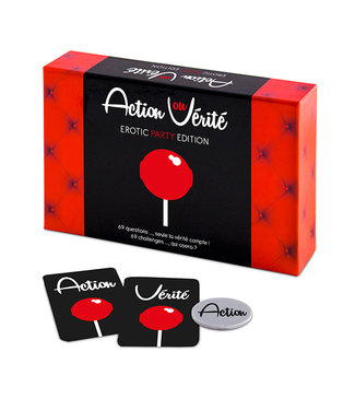Tease & Please Action ou Verite Erotic Party Edition (FR)