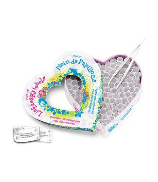 Tease & Please Hart Vol Liefdeskriebels & Coeur Plein de Papillons (NL-FR)